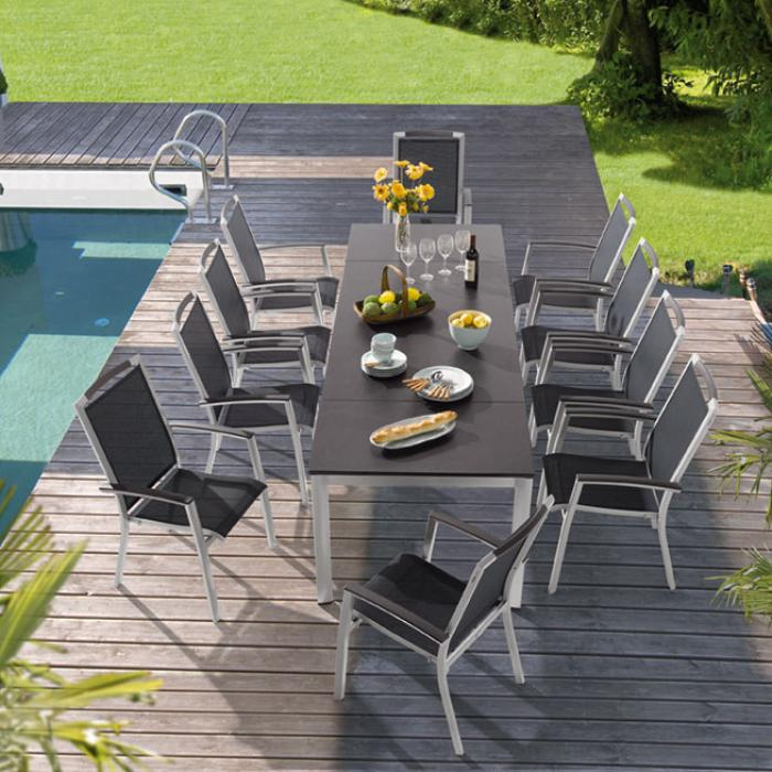 Sieger royal gartenm bel set graphit 1 gartenm bel - Royal gartenmobel ...