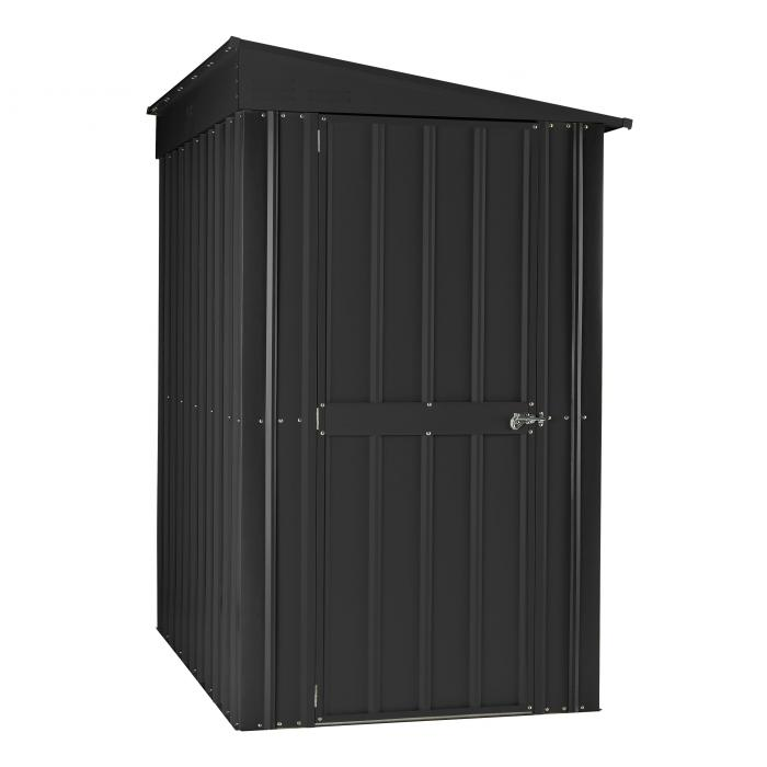 globel metall ger tehaus 6x5 leanto anthrazit. Black Bedroom Furniture Sets. Home Design Ideas