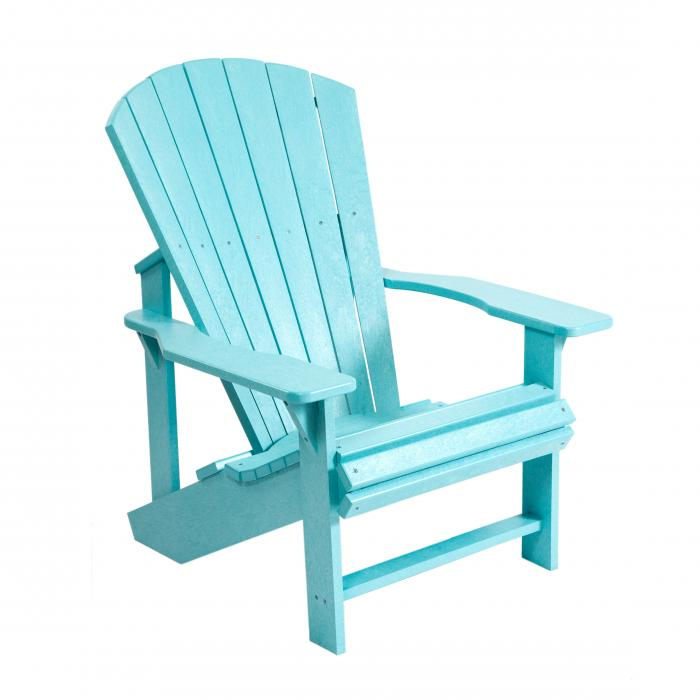 muskoka generation line adirondack chair c01 aqua. Black Bedroom Furniture Sets. Home Design Ideas