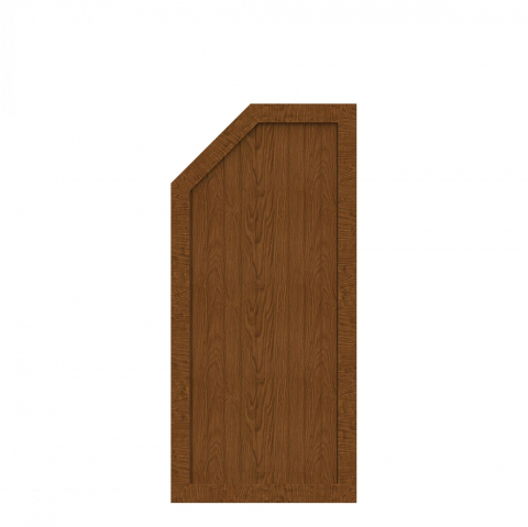 BasicLine Typ L links golden oak 70x120-150