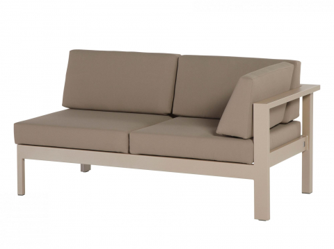 4Seasons Cosmo taupe 2 Sitzer Modul links