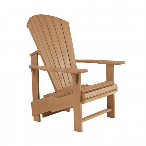 Muskoka Generation Line Adirondack Upright Chair C03 Cedar