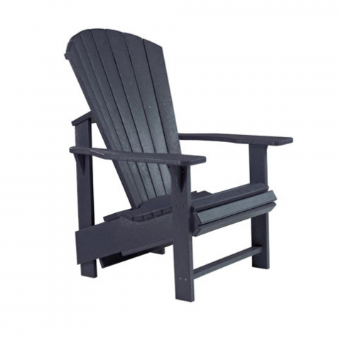 Muskoka Generation Line Adirondack Upright Chair C03 Black