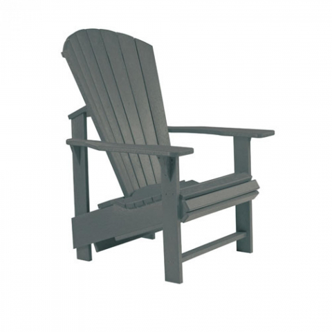 Muskoka Generation Line Adirondack Upright Chair C03 SlateGrey