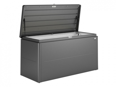Biohort LoungeBox 200 silber-metallic