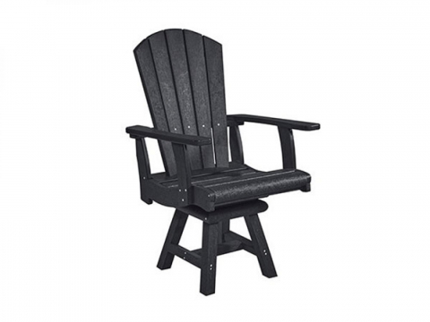 Muskoka Generation Line Addy Dining Arm Chair C16, Black