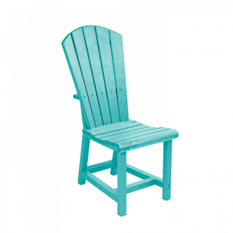 Muskoka Generation Line Addy Dining Side Chair C11, Turquoise