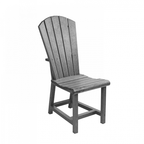 Muskoka Generation Line Addy Dining Side Chair C11, Slate Grey